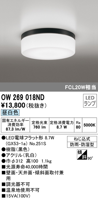 OW269018ND