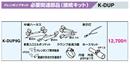 オーケー器材(ダイキン) エアコン部材ドレンポンプキット用オプション接続キット ダイキン工業製ファンコイル用K-DUP9G