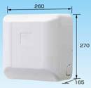 オーケー器材(ダイキン) エアコン部材ドレンアップキット ルームエアコン 天井埋込カセット 1m 低揚程用ホワイト 運転音25dB 電源:単相200VK-KDU301HV