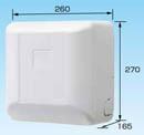 オーケー器材(ダイキン) エアコン部材ドレンアップキット ファンコイル・スポットエアコン 1m 低揚程用ホワイト 運転音25dB 電源:単相100VK-KDU303HS