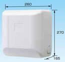 オーケー器材(ダイキン) エアコン部材ドレンアップキット パッケージエアコン 天埋・天吊 1m 低揚程用ホワイト 運転音25dB 電源:単相200VK-KDU303HV
